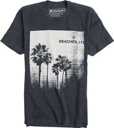 BEACHES PALMS SS TEE: