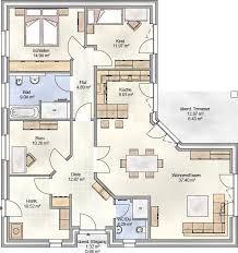 Grundriss bungalow 150 qm  ▷ extrem cooler Grundriss für einen Bungalow. Bärenhaus Bungalow ...