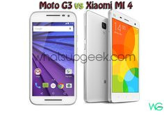 Comparison of Motorola Moto Generation 3 vs Xiaomi Mi 4