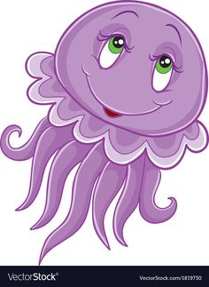 Find Pink Jellyfish Big Eyes stock images in HD and millions of other royalty-free stock photos, illustrations and vectors in the Shutterstock collection. Jellyfish Light, Pink Jellyfish, Cartoon Fish, Cute Cartoon, Art Drawings For Kids, Cute Drawings, School Murals, Lion Mane, Under The Sea Theme