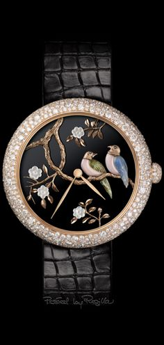 Explore the full range of watches from the Mademoiselle Privé collection on the CHANEL website. The essential CHANEL watch line for an elegant and sophisticated look. Bird Jewelry, Jewelery, Chanel Watch, Unusual Watches, Lesage, Expensive Watches, Chanel Official Website, Jewelry Watches, Women's Watches