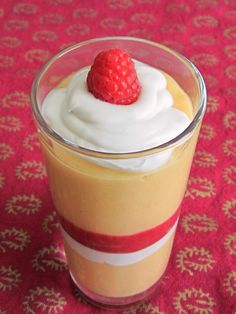 Dreamy Papaya Mango Milkshake with Fresh Raspberry Puree, layered with coconut cream ... delicious, healthy splurge for after the Fast Metabolism Diet. Skip the supplement powder, and feel free to sub a little extra stevia for the honey.
