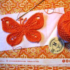 Crochet Butterfly - Free Pattern