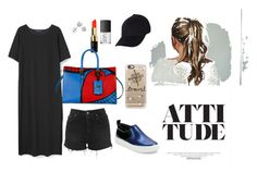 day tour with the fambam by shinnanda on Polyvore featuring polyvore fashion style MANGO Topshop Marc by Marc Jacobs Valentino Amanda Rose Collection Casetify Bobbi Brown Cosmetics NARS Cosmetics women's clothing women's fashion women female woman misses juniors