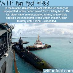 British Indian Ocean Territories - WTF fun facts
