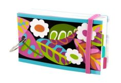 This would be pretty easy to make - great for keeping passwords!   Study Buddy | Vera Bradley