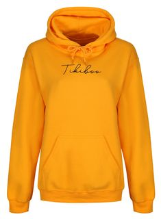 Complement your Tikiboo prints with our stylish and cosy Essence loungewear range! This turmeric gold hoodie features a black Tikiboo Essence logo, with a warm fleece-lined inner, front pocket and toggles on the hood. Hooded Sweatshirts, Hoodies, Loungewear, Turmeric, Cosy, Workouts, Range, Warm, Pocket