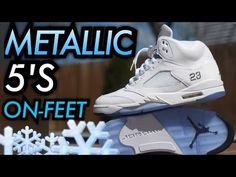 Shoes 2015, Jordan 5, Nike Basketball Shoes, Air Jordan Shoes, Nba Players, Air Jordans, Sneakers Nike, Metallic, How To Wear