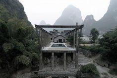 Konverze cukrovaru na hotelový komplex Alila Yangshuo, Vector architects © Vector architects