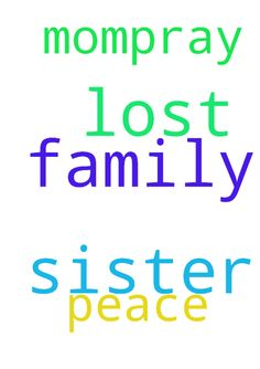 Please pray for our family. my sister lost it again - Please pray for our family. my sister lost it again with my mom....pray for peace. Posted at: https://prayerrequest.com/t/hCp #pray #prayer #request #prayerrequest