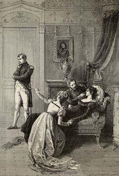 L'annuncio del divorzio tra Napoleone e Giuseppina