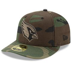 Arizona Cardinals New Era Woodland Camo Low Profile 59FIFTY Fitted Hat a810bb7f4