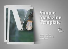 Vergo Magazine (2017 Edition) by Corazone on @creativemarket