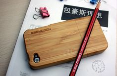 Bamboo Wood iPhone 4 Case by jimiolagheregeekcook on Etsy, $49.99