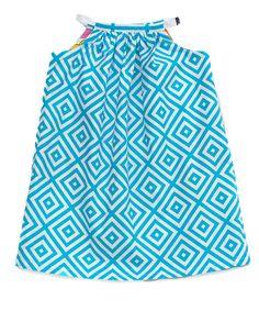 Aegean Reversible Shift Dress