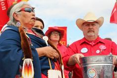 """Brought Together by Keystone Pipeline Fight, """"Cowboys and Indians"""" Heal Old Wounds   Alternet"""