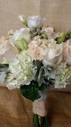 Bridal  bouquet by Fleur de lis Florist Skaneateles