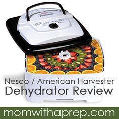 Nesco FD-80 Dehydrator: The Dehydrator on a Budget | Want a dehydrator but on a tight budget? This workhorse from Nesco might just fit the bill! The Nesco FD-80 Dehydrator Review