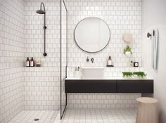 Metrotegels badkamer - THESTYLEBOX