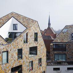 новые апартаменты в центре Брюгге