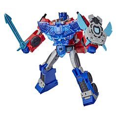 Free 2-day shipping. Buy Only At Walmart: Transformers Cyberverse Adventures Optimus Prime at Walmart.com