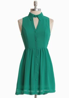 Lovely Adventure Dress. $37.00 on sale. I need more of this color in my wardrobe.