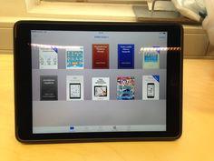 Ibooks-lukuohjelma. E-kirjojen lukeminen