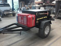 Off-road trailer . Bug Out Trailer, Work Trailer, Off Road Trailer, Trailer Plans, Trailer Build, Utility Trailer, Adventure Trailers, Custom Trailers, Cargo Trailers