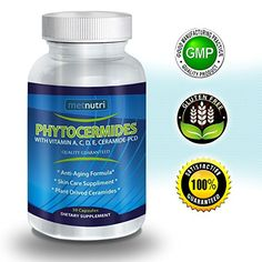 Metnutri Phytoceramides Ceramide PCD ® Plant Derived (From Rice) - 100% Gluten Free All Natural Skin Restoring Skincare Supplement with Vitamin A, C, D & E, Eliminates Wrinkles, Reduces Fine Lines, Strengthens Hair Skin Nails | 40mg, 30-day Capsule Supply | Bonus Anti-aging Skin Care Guide metnutri http://www.amazon.com/dp/B00JK2ZB30/ref=cm_sw_r_pi_dp_b56Avb0SG26CG