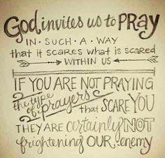 Pray, Pray, Pray!!!