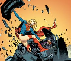 Supergirl screenshots, images and pictures - Comic Vine