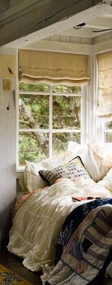 Cozy  corner dream bed lighting