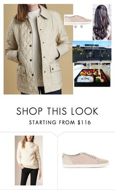 """""""Having lunch at the Kohan Japanese Restaurant near Lake Tekapo"""" by fashion-royalty ❤ liked on Polyvore featuring Burberry, Barbour and Cartier"""