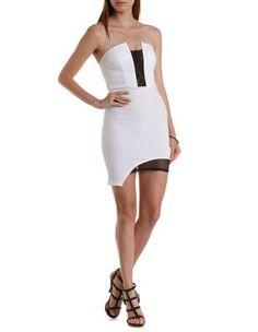 Crochet Halter High-Low Dress: Charlotte Russe #halter #dress ...