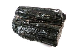 Black Tourmaline Specimen 140g Log Stick Wand Natural Rough Mineral Gemstone Schorl by SandiLaneFineArt on Etsy