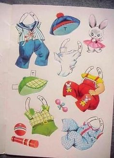 Paper Doll Babies Paper Doll Book--Saalfield--Uncut--Three Die-Cut Dolls (11/22/2013)