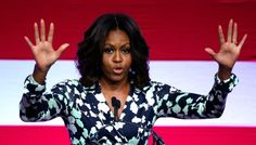 """Michelle Obama on voting: """"That's my message to voters, this isn't about Barack. It's not about the person on that ballot, it's about you, and for most of the people we are talking to a Democratic ticket is the clear ticket that we should be voting on regardless of who said what or did this, that shouldn't even come into the equation."""""""