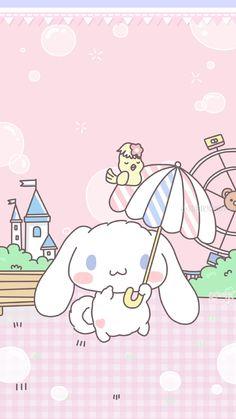 Pastel Wallpaper, Bear Wallpaper, Kawaii Wallpaper, Cartoon Wallpaper, Sanrio Wallpaper, Hello Kitty, Sanrio Characters, Cute Characters, Kawaii Illustration