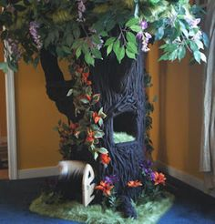 A Fantasy Forest: Designer Cat Furniture for Spoiled Rotten Kitties!