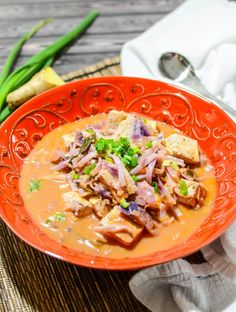 Thai Tomato Peanut Soup | www.theeverykitchen.com
