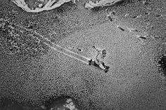 Ice river longboarding
