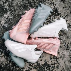 The Spectral Mode pack is adidas' latest showcasing of it's battle-ready gear in a classy pastel palette. Girls Soccer Cleats, Soccer Gear, Football Girls, Football Shoes, Play Soccer, Cool Soccer Shoes, Indoor Soccer Cleats, Soccer Stuff, Soccer Sports