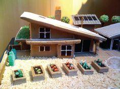 //MY HOME AS ART: Modern Gingerbread Houses