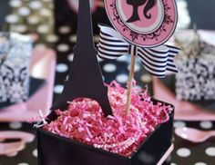 Sweet Festivity's Birthday / French / Parisian - Barbie Parisian Birthday Party at Catch My Party Parisian Birthday Party, Parisian Party, 40th Birthday Parties, 12th Birthday, Birthday Celebration, Birthday Ideas, Barbie Theme, Barbie Birthday, Barbie Party