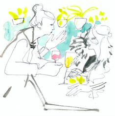 An Illustrated Festival: Smyth    Artist Carly Larsson captured the excitement in thelobby of Smythduring the 2016 Tribeca Film Festival through her beautiful vibrant illustrations,. See the fes
