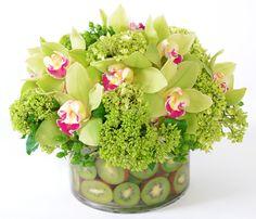 green fresh flowers - Google Search