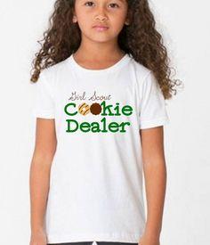 Trendy T-shirt Kids Girl Etsy Ideas Girl Scout Cookie Sales, Brownie Girl Scouts, Girl Scout Cookies, Daisy Girl Scouts, Girl Scout Troop, Cub Scouts, Diy For Girls, Kids Girls, Girl Scout Shirts