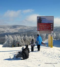Snowshoe: dreaming of standing in this very spot one day, again ... One day by Gods grace