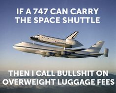 Overweight Luggage Fees…