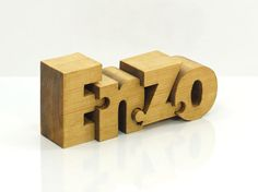 Personalized Wooden Name Puzzle van Name2Puzzle op Etsy, $49.00